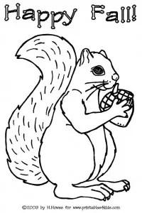 Preschool printables squirrels 9jasports