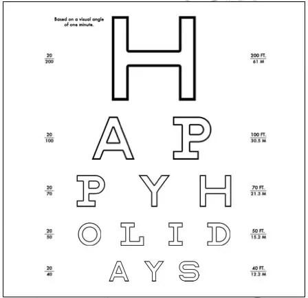 custom eye chart to print at home : Printables for Kids