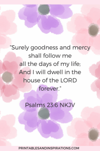Attract God's blessings, psalm 23 lessons, bible study, inspiration, bible verse