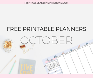 Free printable planners, calendar, weekly planner, habit tracker, daily journal