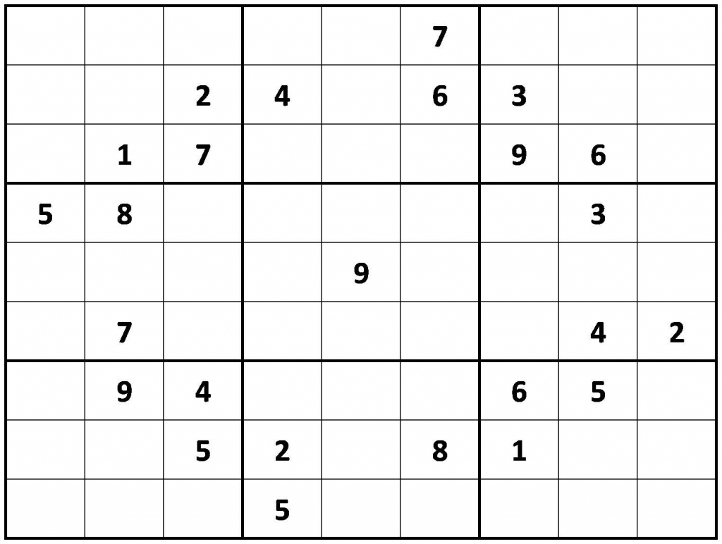 Blank Sudoku Grids