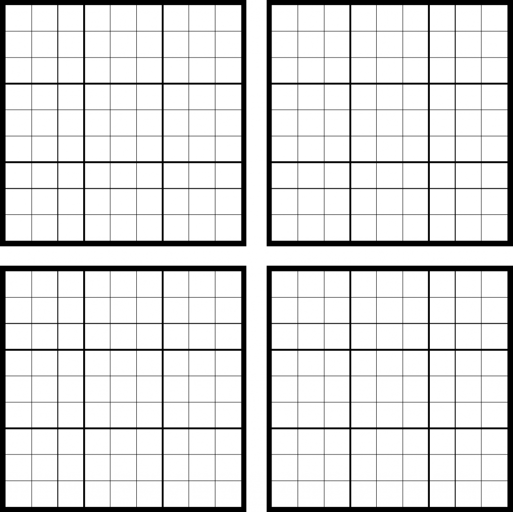 Sudoku Blank Grid Archives