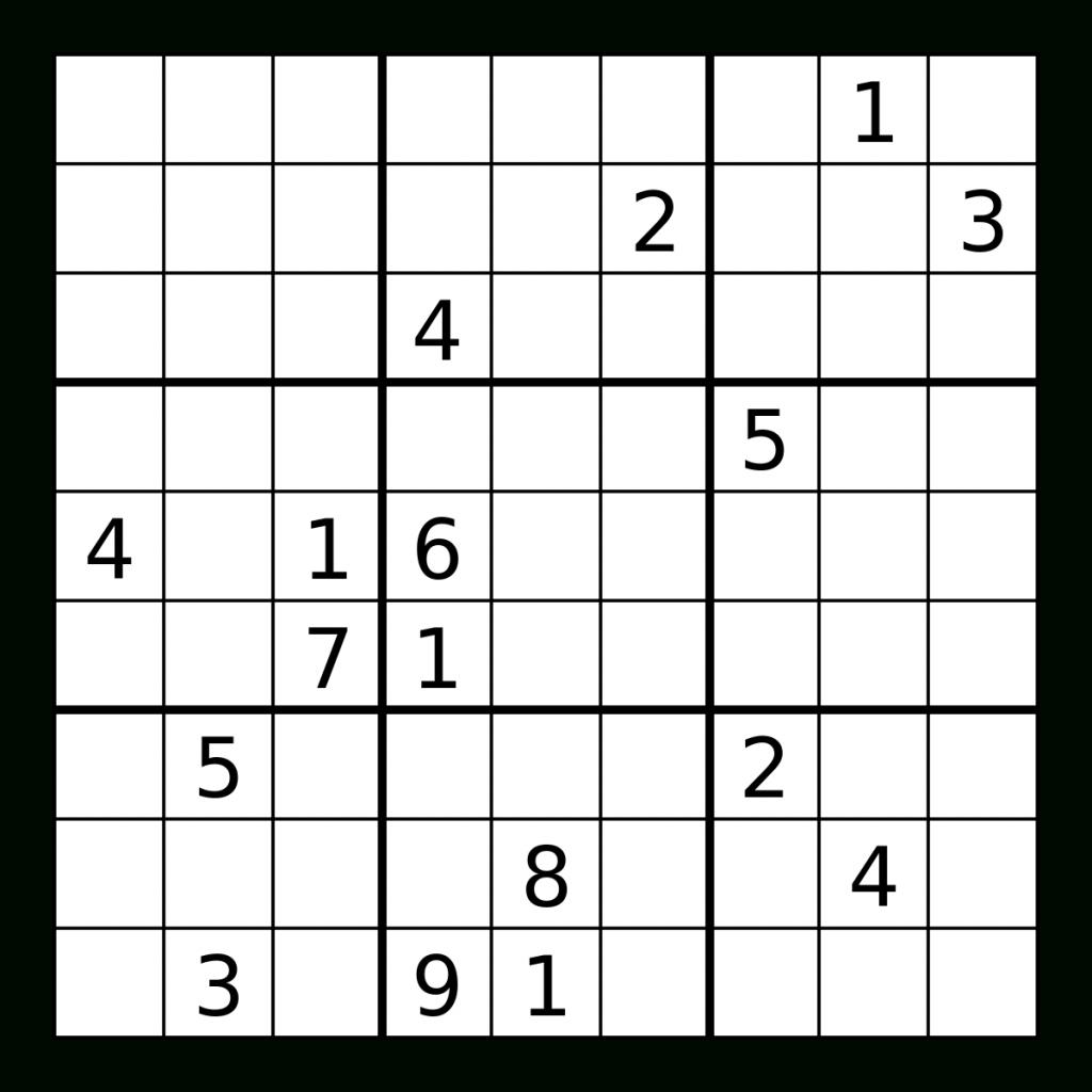 suduku puzzle
