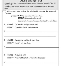 Flashlight Cause And Effect Worksheet   Printable Worksheets and Activities  for Teachers [ 1584 x 1224 Pixel ]