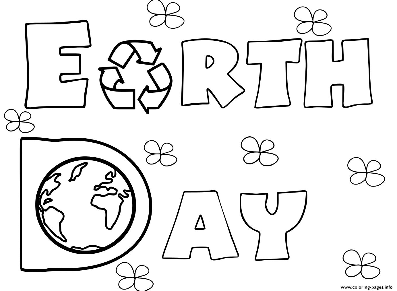 Free Printable Earth Day Worksheets For Kindergarten