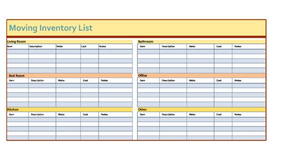Know status of storage containers at a click. 30 Free Inventory Spreadsheet Templates Excel