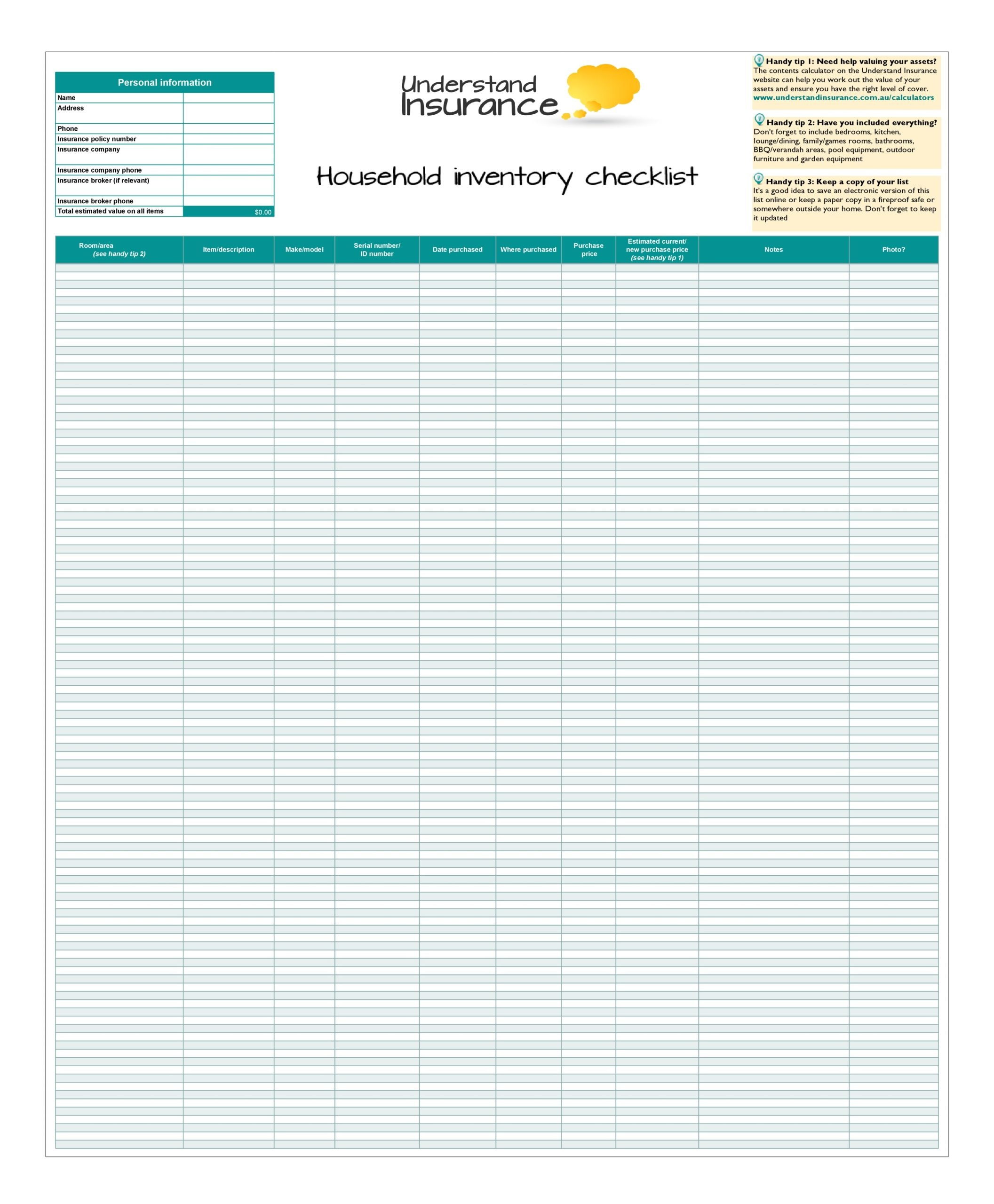Because most companies use and sell their inventory on a daily basis, inventory systems must be regularly updated. 30 Free Inventory Spreadsheet Templates Excel