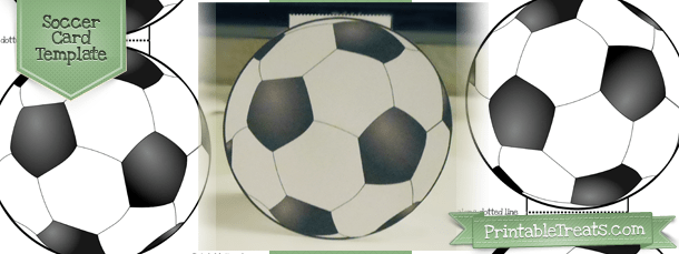 Printable Soccer Card Template  Printable Treatscom