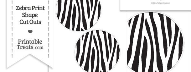 zebra print — Printable Treats.com