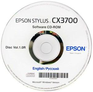Диск Epson CX3700