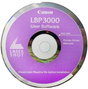 Диск с драйверами Canon LBP 3000