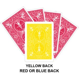 Yellow Back Gaff Card