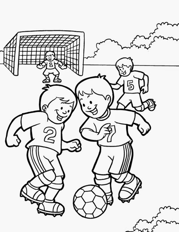 Physically Fit Men Coloring Pages