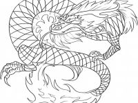 Chinese Dragon Coloring Pages Printable Wallpaper Golden Page Of Colorado Springs Smartphone High Resolution Mythological And Print