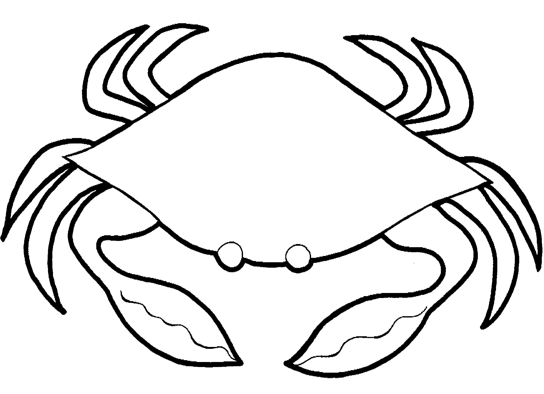 Exoskeleton Bud S 16 Crab Coloring Pages