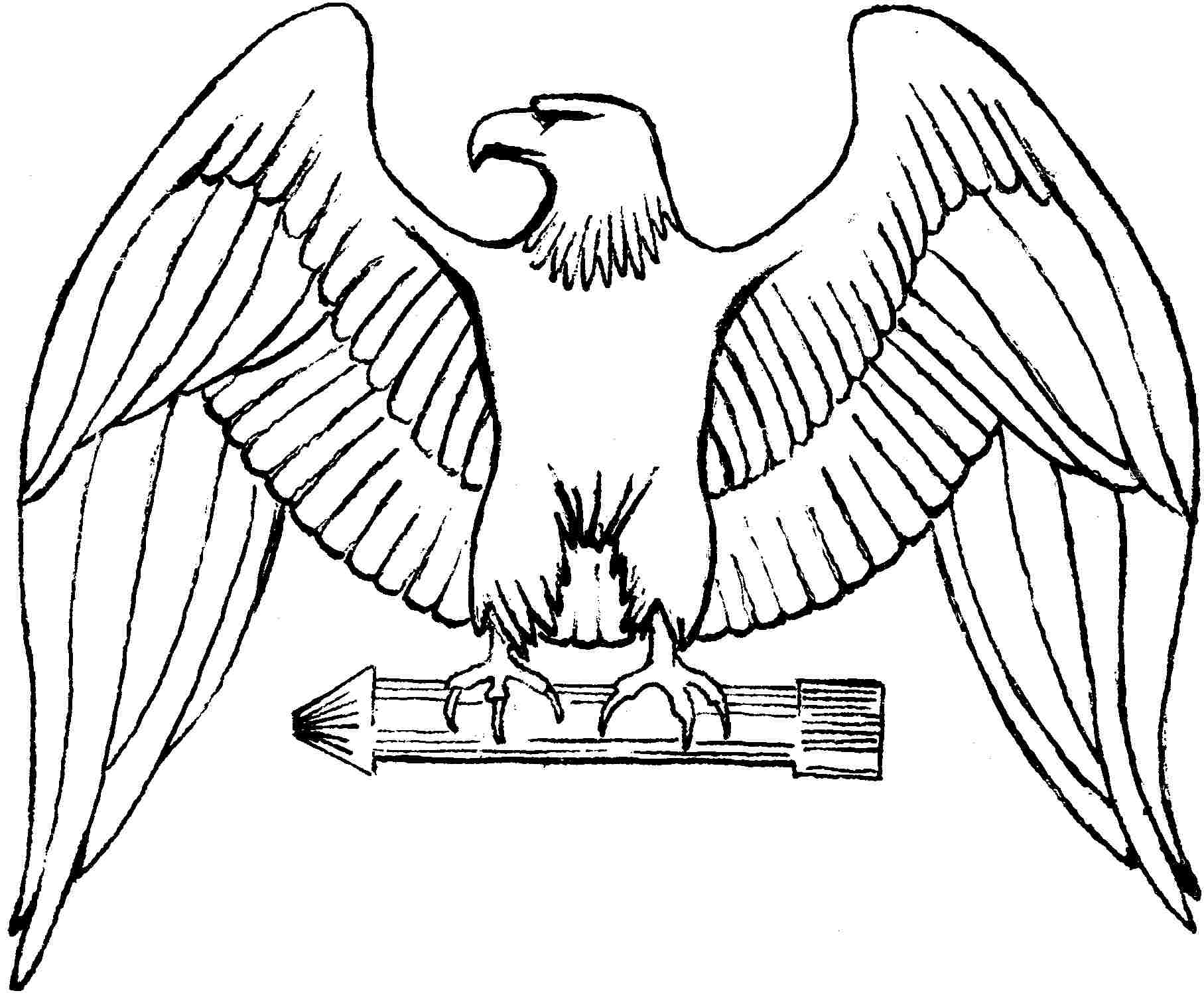 11 Eagle Coloring Pages For Kids
