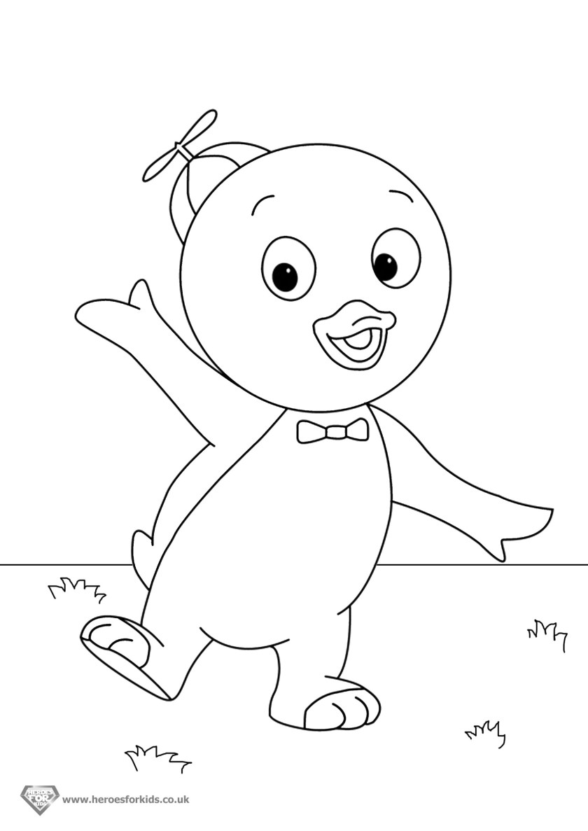 13 backyardigans coloring pages printable  print color