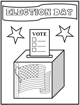 Rock The Vote Coloring Sheet Coloring Pages