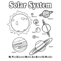 15 solar system coloring pages for kids - Print Color Craft