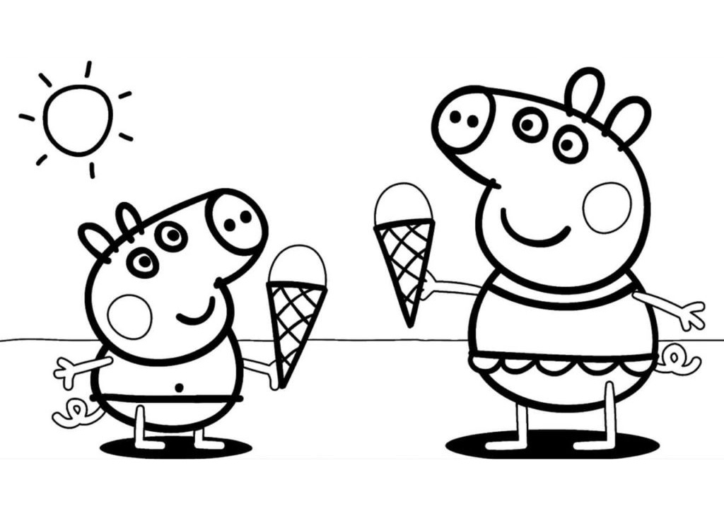 30 Peppa Pig Coloring Pages to Print and Color (2020