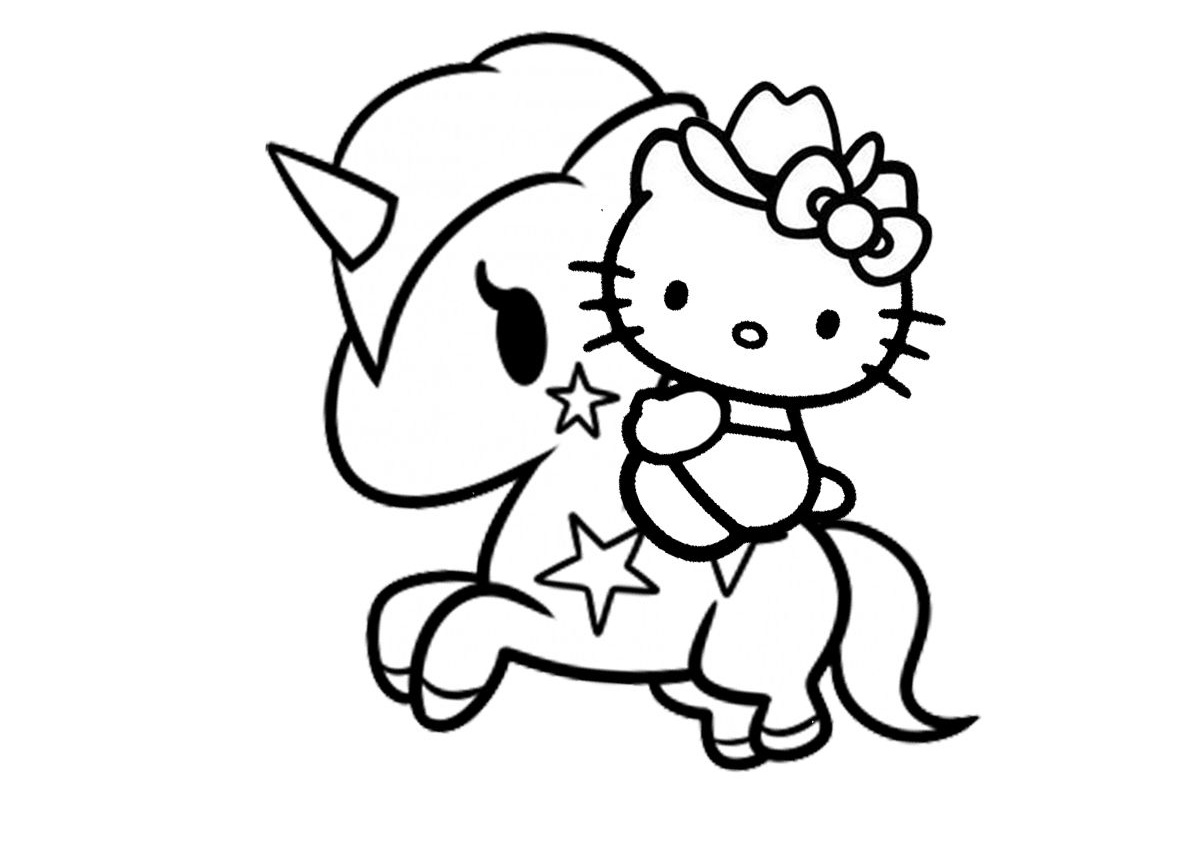28 Printable Hello Kitty Coloring Pages
