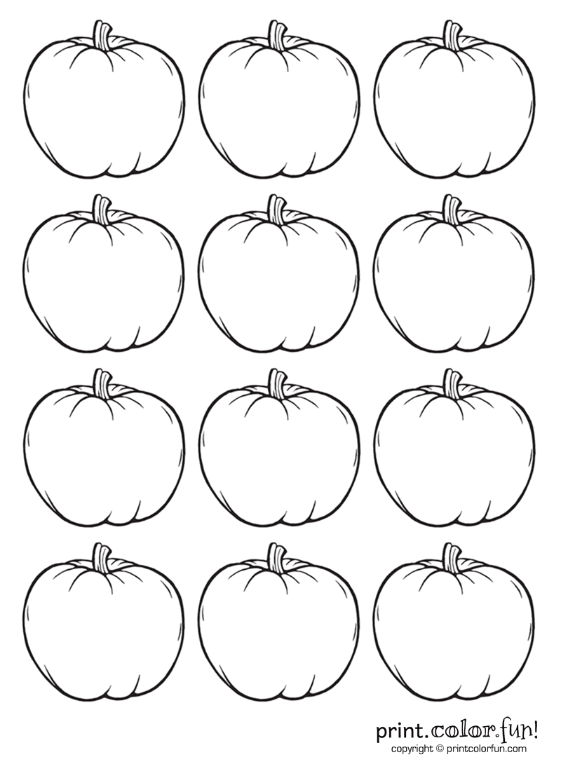Five Little Pumpkin Coloring Pages To Print Coloring Pages