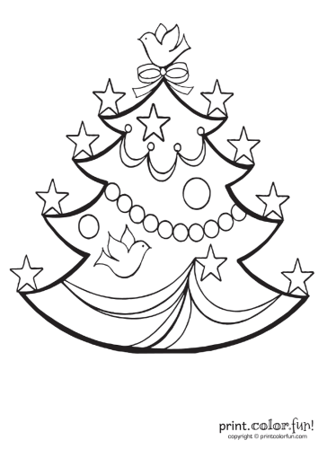 Christmas-tree-with-stars