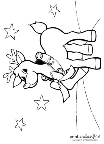 Cute-reindeer-with-jingle-bells