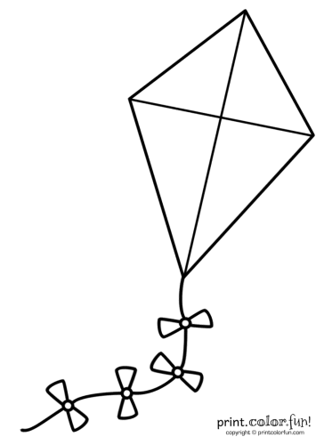 Flying-a-big-kite