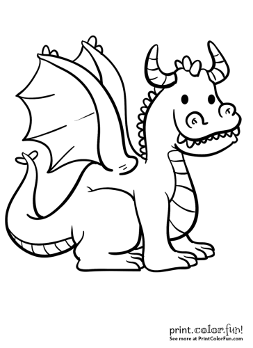 Goofy dragon