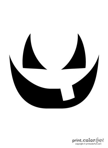 Pumpkin-carving-stencil---grin