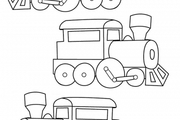 Car, truck, plane & train coloring pages & printables