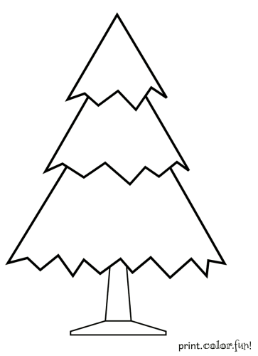 undecorated-christmas-tree-coloring