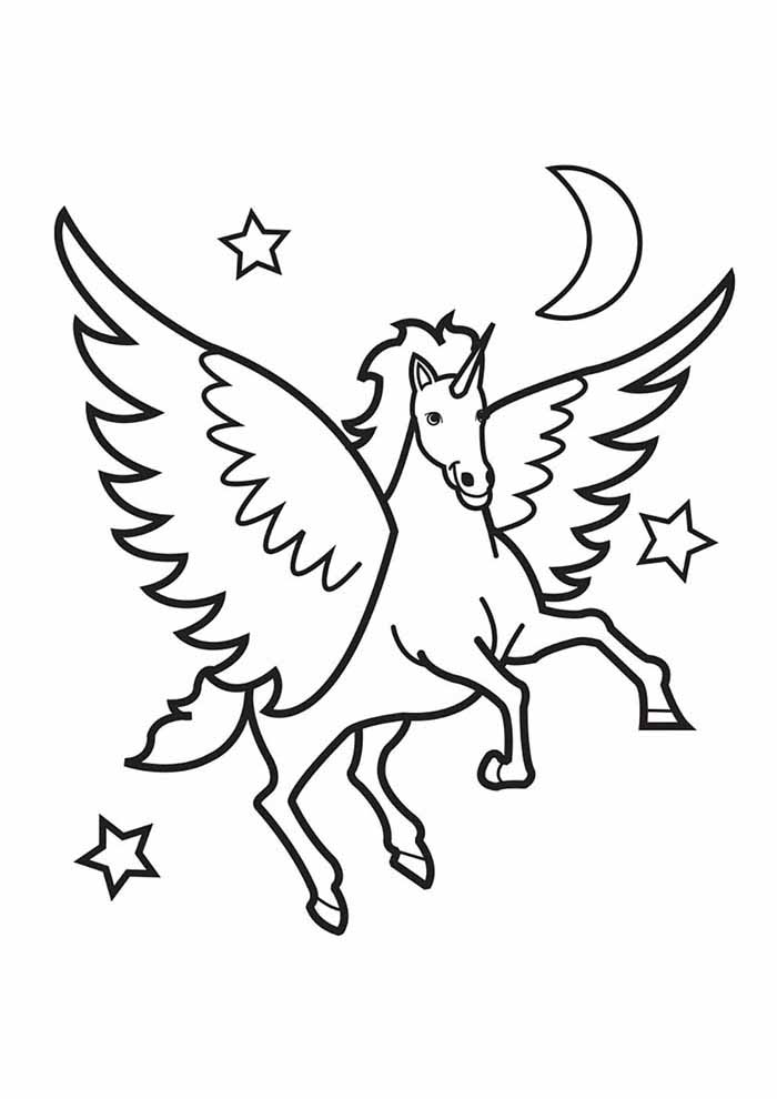 122 Unicorn Coloring Pages Coloring Pages