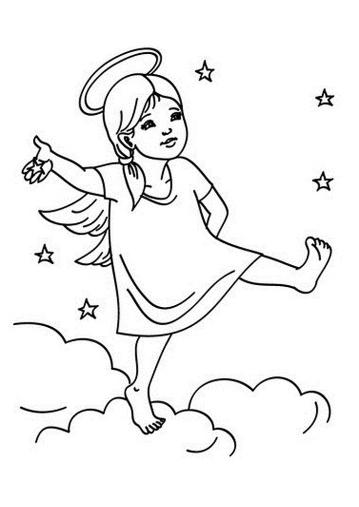 24 Angel Coloring Pages Coloring Pages