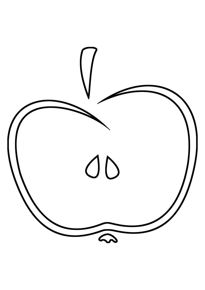 40 Apple Coloring Pages Coloring Pages