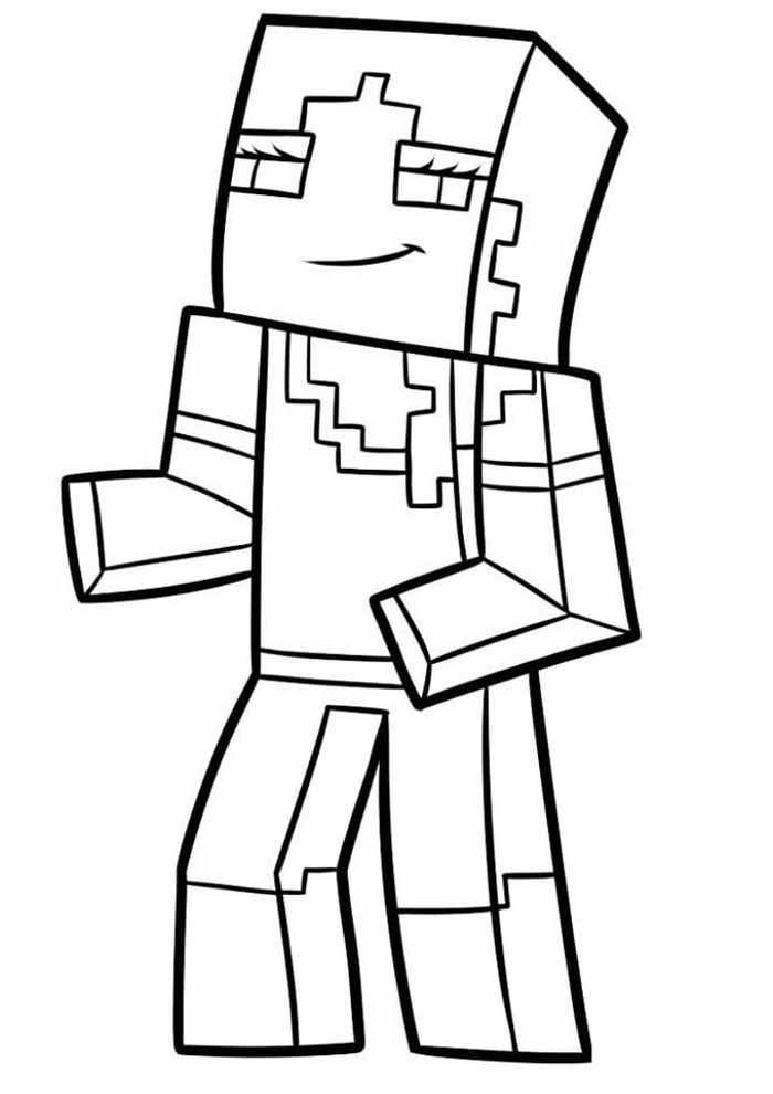 72 Minecraft Coloring Pages Coloring Pages