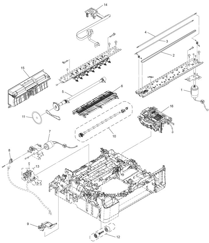 Parts Catalog > Brother > MFC-J200 > page 4