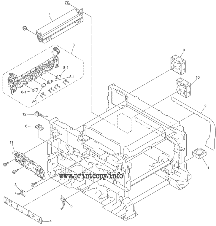 Parts Catalog > Brother > MFC-L9550CDW > page 1