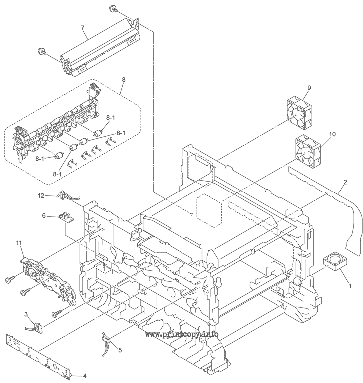 Parts Catalog > Brother > HL-L8350CDW > page 1