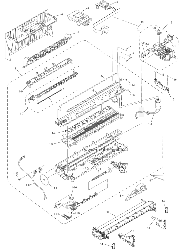 Parts Catalog > Brother > MFC6890CDW > page 3