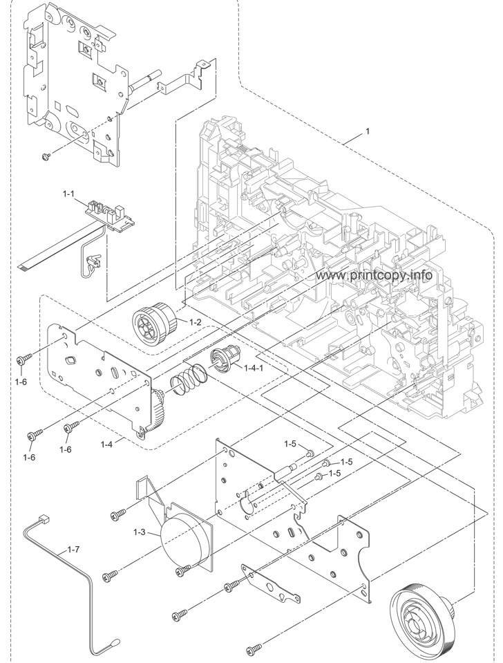 Parts Catalog > Brother > MFC7460DN > page 1
