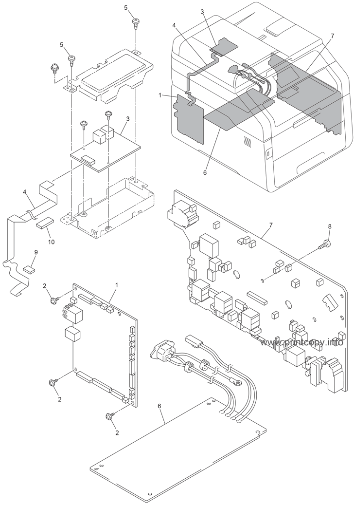 Parts Catalog > Brother > MFC9330CDW > page 14
