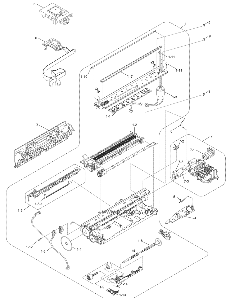 Parts Catalog > Brother > MFC-J220 > page 3