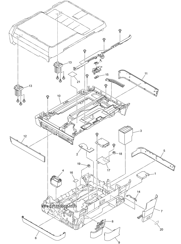 Parts Catalog > Brother > MFC-J6920DW > page 8