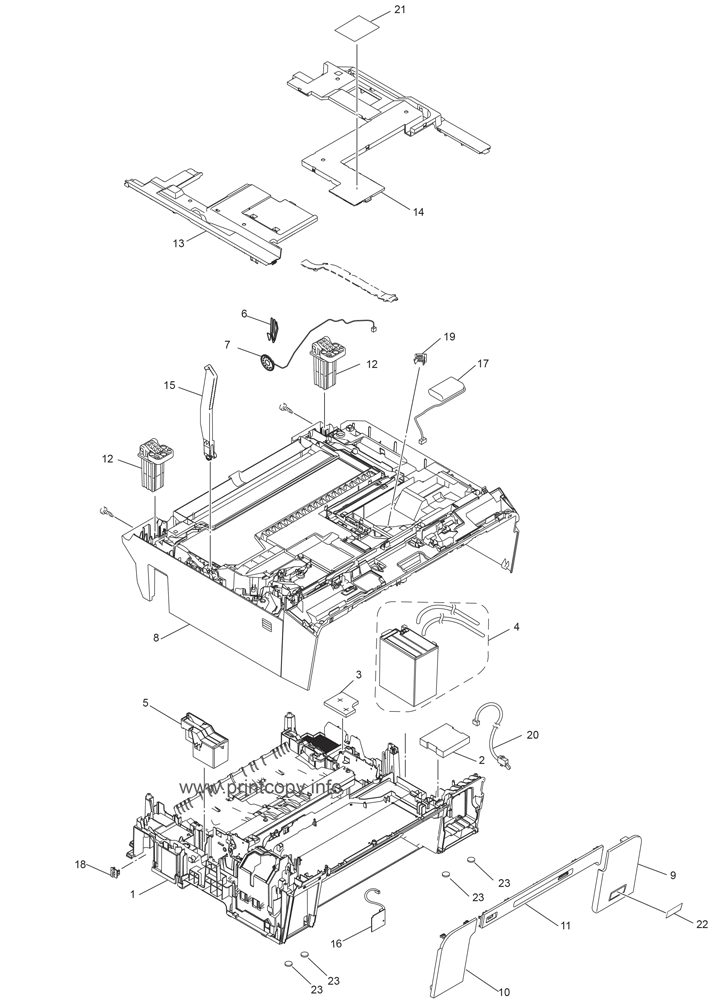 Parts Catalog > Brother > MFC-J6710DW > page 8