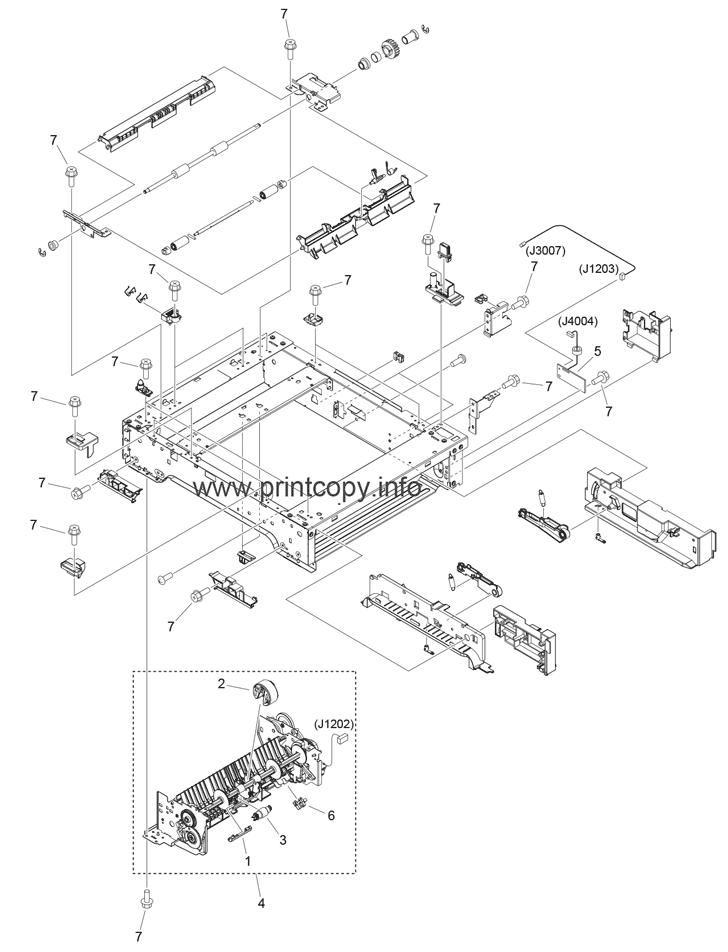 Parts Catalog > Canon > Cassette Feeding Module V1 > page 2