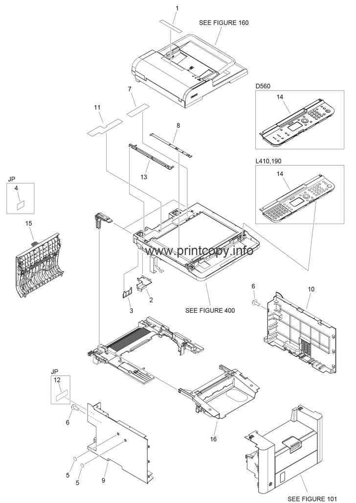 Parts Catalog > Canon > imageCLASS D530 > page 1
