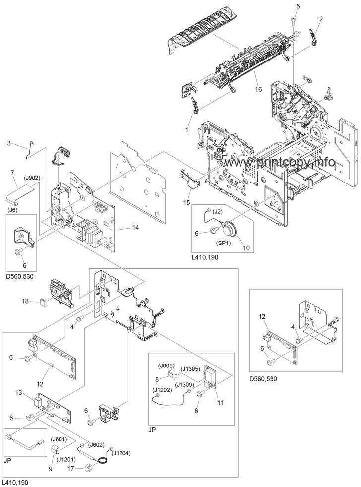 Parts Catalog > Canon > imageCLASS D530 > page 4