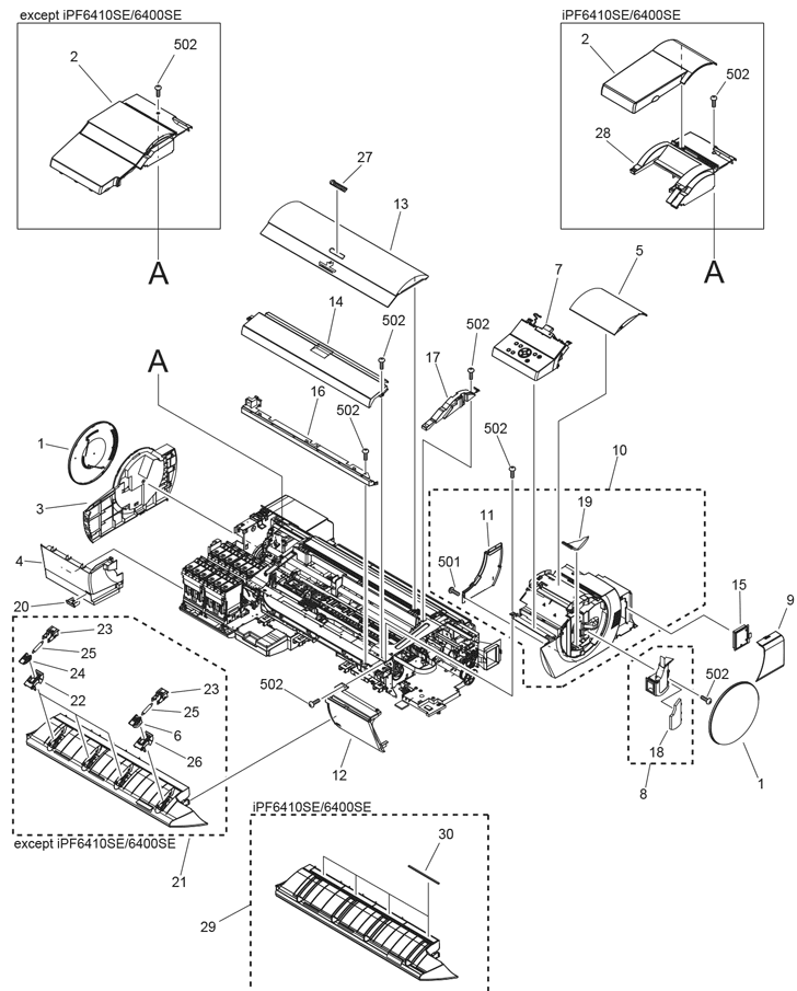 Parts Catalog > Canon > imagePROGRAF iPF6450 > page 3